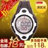 成强8819黑色环保手表 闹钟手表 计时器批发