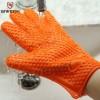思危厂家直销 批发加厚防滑微波炉硅胶手套