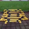 吴江车位安装铁管倒车栏杆价格