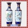 景德镇陶瓷雪景 现代落地大花瓶 客厅 家居 酒店 装饰摆件
