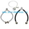热水器接水管马桶用编织软管304不锈钢编织管