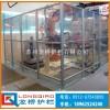 镇江机械手安全围栏 电焊区围栏 龙桥机器人工业铝型材防护网