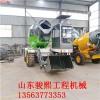 自上料搅拌罐车 出口型铲斗水泥搅拌车 厂家专业生产