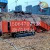 基坑支护钻机视频  山西专用建筑基坑履带式锚固钻机