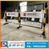 烟台厂区移动护栏 专业订制双面LOGO板移动安全围栏 高质量