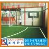 苏州龙桥厂专业生产 篮球场护栏网 体育场护栏网绿色浸塑勾花网
