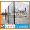 龙桥园林护栏网 铁丝网钢丝网公司 镀锌喷塑桃形柱护栏网