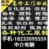 推荐商家回收库存化工原料 18233095559